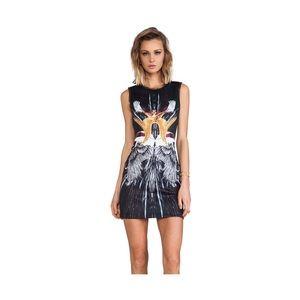 Clover Canyon Wings Neoprene Shift Dress Revolve 4